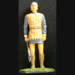 SOLDAT DU MOYEN-AGE HOMME A PIED CASTILLAN XIVe SIÈCLE 1367