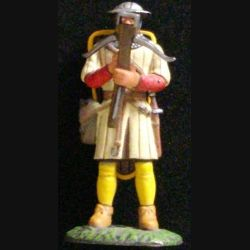 SOLDAT DU MOYEN-AGE ARBALÉTRIER GÉNOIS XIIe SIÈCLE 1346