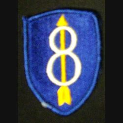 8°DIVISION PATCH US ARMY