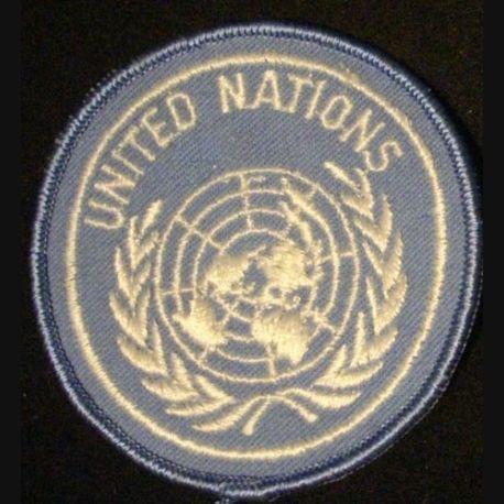 INSIGNE DE MANCHE UNITED NATIONS