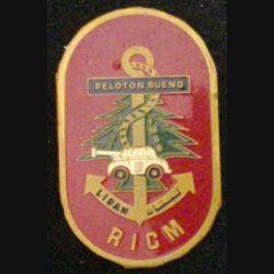 RICM : insigne métallique du peloton Buono du 3° escadron du régiment d'infanterie et chars de marine au Liban FMSB 1983 de fabrication locale