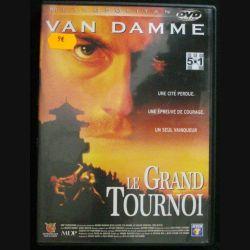 DVD : LE GRAND TOURNOI (VAN DAMME) (C64)