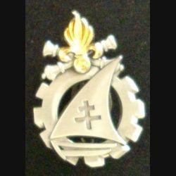 13° DBLE : insigne de la compagnie de maintenance de la 13° demi brigade de la légion étrangère de fabrication Boussemart 2011
