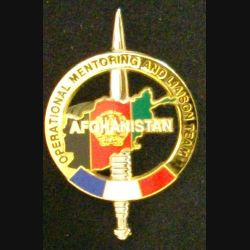 AFGHANISTAN OMALT : OPERATIONAL MENTORING AND LIAISON TEAM