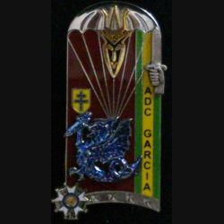 """PROMOTION ENSOA : insigne de la 234° promotion de l'école nationale des sous-officiers d'active """"adjudant-chef GARCIA"""" de fabrication Arthus Bertrand G. 4910"""