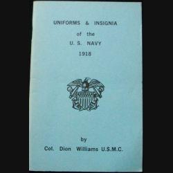 1. UNIFORMES ET INSIGNES DE L'US NAVY 1918 (C90)