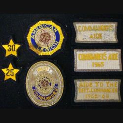 USA : LOT DE 6 PATCHES DE L'AMERICAN LEGION
