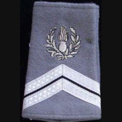 FOURREAU COMMISSARIAT : Fourreau de sergent engagé du commissariat sur fond gris