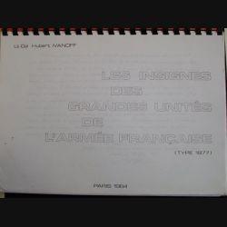 0. LES INSIGNES DES GRANDES UNITÉS DE L'ARMÉE FRANÇAISE EN 1977
