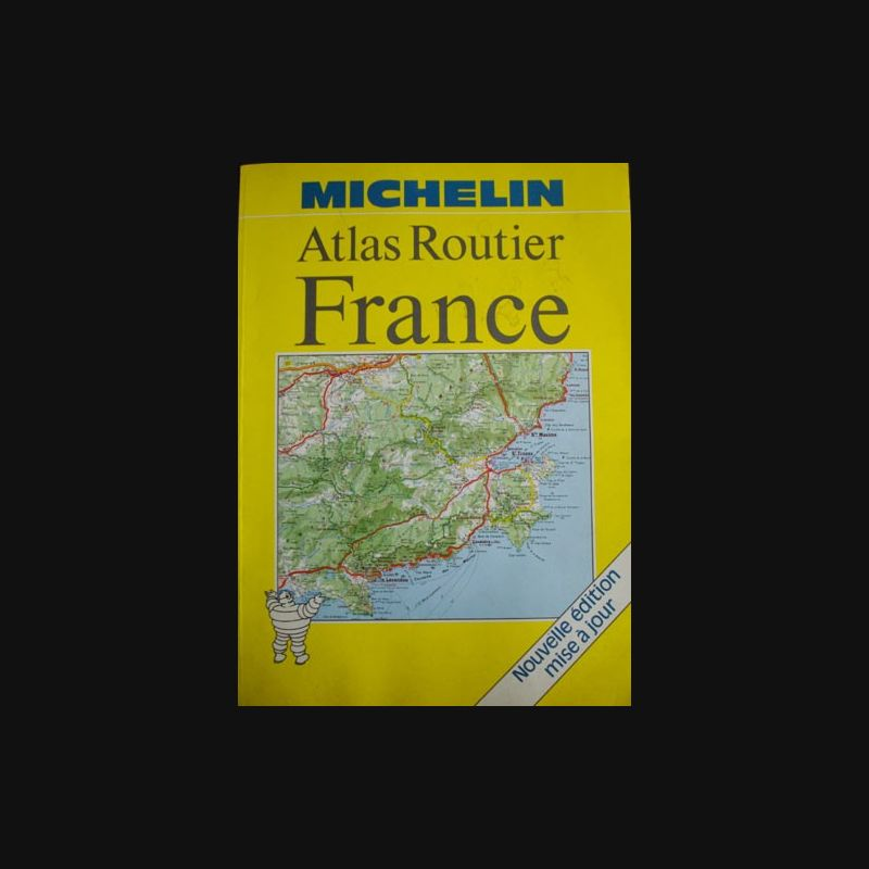 0 atlas routier france michelin edition 1988 ma collection pas ch re. Black Bedroom Furniture Sets. Home Design Ideas