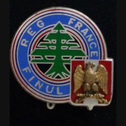 15° DI : insigne métalllique du régiment français à la FINUL Liban de fabrication Drago Paris