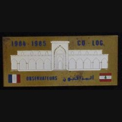LIBAN : OBSERVATEURS CO-LOG 1984-1985