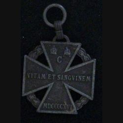 AUTRICHE : MÉDAILLE COMMÉMORATIVE 1914-1918 (SANS RUBAN)