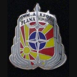 E.M.A KFOR : OPERATION TRIDENT 3 1999-2000 PLANA KUMANOVO