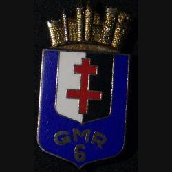 GMR N°6 : GROUPEMENT DES MOYENS RÉGIONAUX N°6 (DELSART)