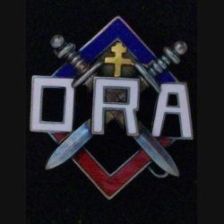 ORA : ORGANISATION DE LA RÉSISTANCE ARMÉE N° 2921 + BOITE ÉMAIL