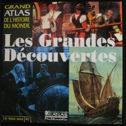 CD ROM MAC PC : LES GRANDES DÉCOUVERTES (C90)