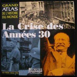 CD ROM MAC PC : LA CRISE DES ANNÉES 30 (C90)