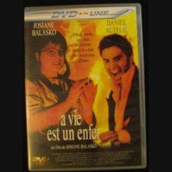 DVD : LA VIE EST UN ENFER DE JOSIANE BALASKO AVEC DANIEL AUTEUIL (C64)