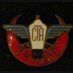 CTA 805 : COMPAGNIE DE TRANSMISSION DE L'AIR N°805 (AUGIS) ÉMAIL