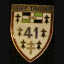41° RI : 41° RÉGIMENT D'INFANTERIE (DRAGO) ÉMAIL