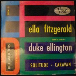 DISQUE 45 TOURS : ELLA FITZGERALD DUKE ELLINGTON N°70326 (C72)