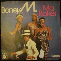 DISQUE 45 TOURS : BONEY M. MA BAKER N° LP 67.193 (C72)