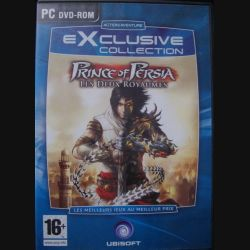 1. EXCLUSIVE COLLECTION : PRINCE OF PERSIA DEUX ROYAUMES UBISOFT (C64)