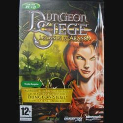 1. LEGENDS OF ARANNA : DUNGEON SIEGE MICROSOFT (C64)