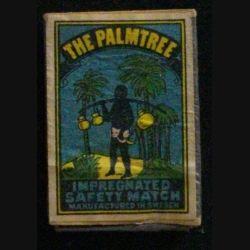 BOITE D'ALLUMETTES : THE PALMTREE