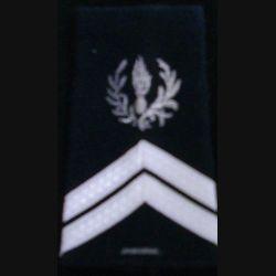 FOURREAU COMMISSARIAT : Fourreau de sergent engagé du commissariat avec une barre d'ancienneté