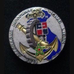 9° GRD : insigne métallique du 9° groupe de réparation divisionnaire de fabrication Drago Paris