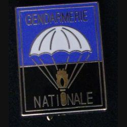 EPIGN : insigne métallique de l'escadron parachutiste d'intervention de la Gendarmerie nationale EPIGN de fabrication Boussemart 2005 grenade dorée