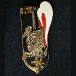 PROMOTION ESM SAINT CYR : GÉNÉRAL GILLES (DATE GRAVÉE) ÉMAIL