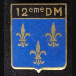 12°DM : 12°DIVISION MILITAIRE (DRAGO 2243)