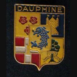 INSIGNE RÉGIONAL DU DAUPHINE DES ANNÉES 1930 (AUGIS) ALU PEINT