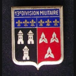 13°DM : 13°DIVISION MILITAIRE (ATTACHE RONDE) DRAGO