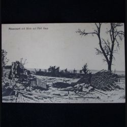 CARTE POSTALE GUERRE 1914-1918 : ABAUCOURT 22 DÉC 1916