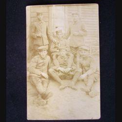 CARTE POSTALE GUERRE 1914-1918 : SOLDATS