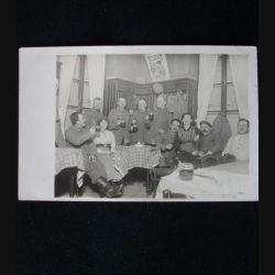 CARTE POSTALE GUERRE 1914-1918 : SOLDATS 13 DÉCEMBRE 1915