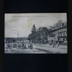 CARTE POSTALE GUERRE 1914-1918 : SIVRY SUR MEUSE 2 JANVIER 1918