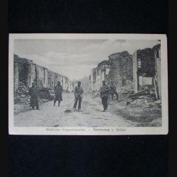 CARTE POSTALE GUERRE 1914-1918 : SOLDATS A DANNEVOUX