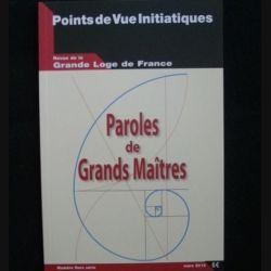 Points de vue initiatiques - Revue de la grande loge de France numéro hors série mars 2010 (C66)
