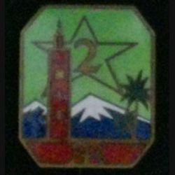 2°RTM : 2°RÉGIMENT DE TIRAILLEURS MAROCAINS ÉMAIL (ABPD) 1939