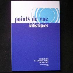 POINTS DE VUE INITIATIQUES N°87 4°TRIMESTRE 1992 (C66)