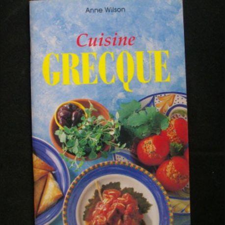 Cuisine grecque de anne wilson ma collection pas ch re for Cuisine grecque