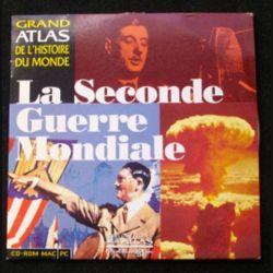 CD ROM MAC PC : LA SECONDE GUERRE MONDIALE (C90)