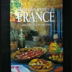 Livre de cuisine saveurs des terroirs de france de - Livre de cuisine francaise ...