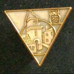 2° REP : insigne du brevet de combat dans les localités de grade bronze fabriqué par JMM Insignes