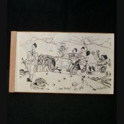 0. Livret de la 2° compagnie de la promotion Libération avec les caricatures, noms et adresses de tous les élèves (C96)